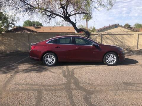 2016 Chevrolet Malibu for sale at UR APPROVED AUTO SALES LLC in Tempe AZ