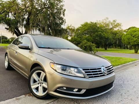 2014 Volkswagen CC for sale at FLORIDA MIDO MOTORS INC in Tampa FL