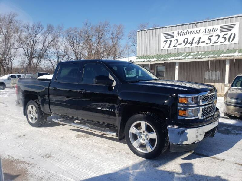 2014 Chevrolet Silverado 1500 for sale at Midwest Auto of Siouxland, INC in Lawton IA