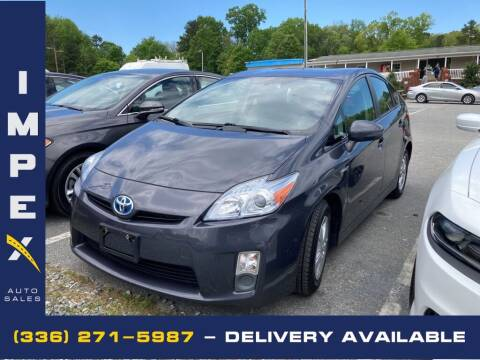 2010 Toyota Prius for sale at Impex Auto Sales in Greensboro NC