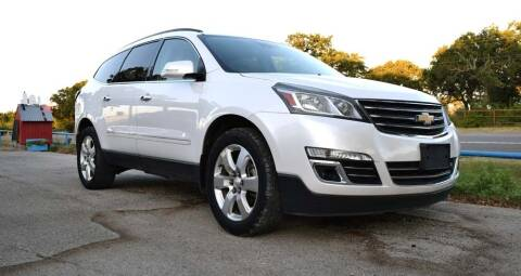 2016 Chevrolet Traverse for sale at BriansPlace in Lipan TX