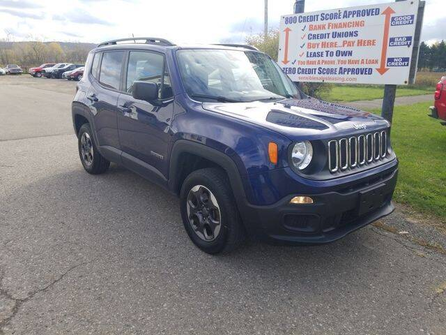 2017 Jeep Renegade for sale at Sensible Sales & Leasing in Fredonia NY