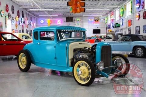 1930 Ford Coupe for sale at Classics and Beyond Auto Gallery in Wayne MI