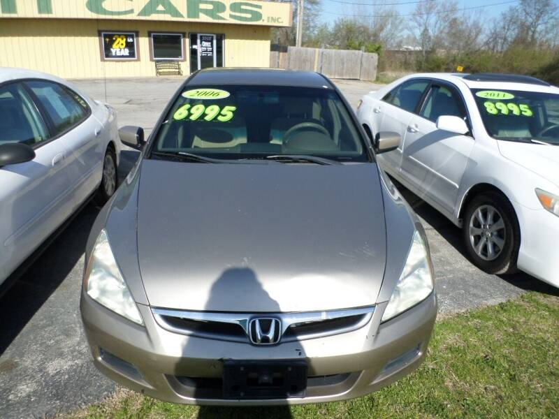 2006 Honda Accord for sale at Credit Cars of NWA in Bentonville AR