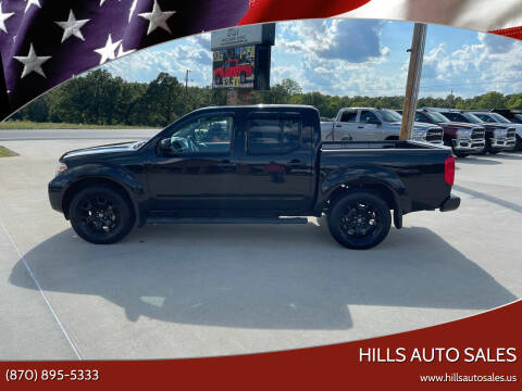 2018 Nissan Frontier for sale at Hills Auto Sales in Salem AR