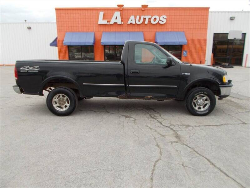 1997 Ford F-150 for sale at L A AUTOS in Omaha NE