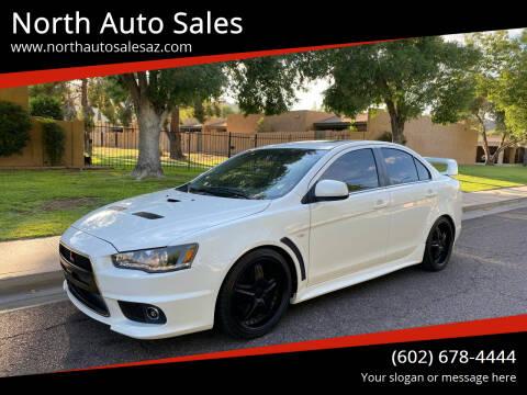 2013 Mitsubishi Lancer for sale at North Auto Sales in Phoenix AZ