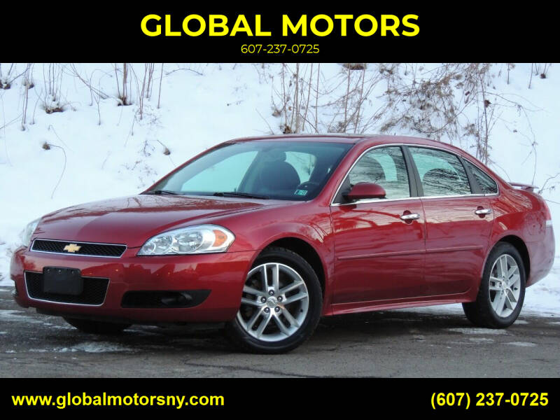 2014 Chevrolet Impala Limited for sale at GLOBAL MOTORS in Binghamton NY