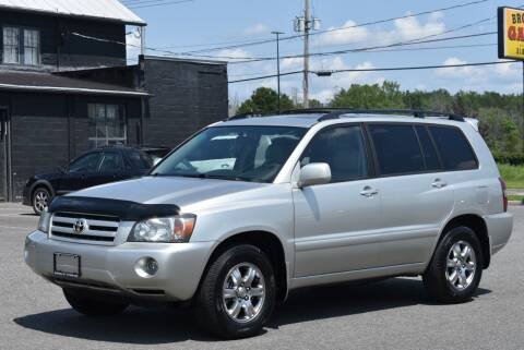 2007 Toyota Highlander for sale at Broadway Garage of Columbia County Inc. in Hudson NY