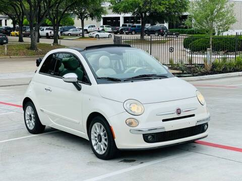 2012 FIAT 500c for sale at Texas Drive Auto in Dallas TX