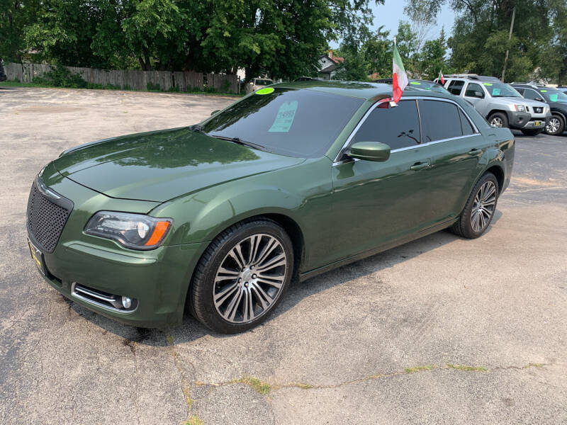 2013 Chrysler 300 for sale at PAPERLAND MOTORS - Fresh Inventory in Green Bay WI