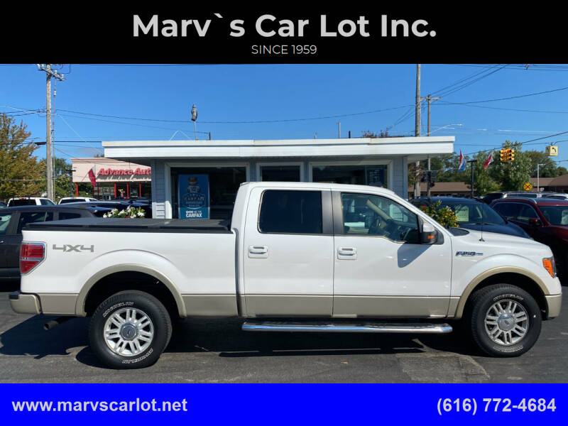 2010 Ford F-150 for sale at Marv`s Car Lot Inc. in Zeeland MI