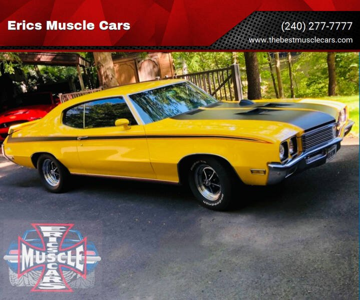 1972 Buick Gran Sport for sale at Erics Muscle Cars in Clarksburg MD