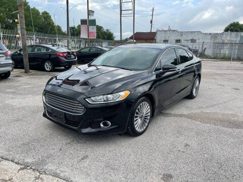 2016 Ford Fusion for sale at Saipan Auto Sales in Houston TX