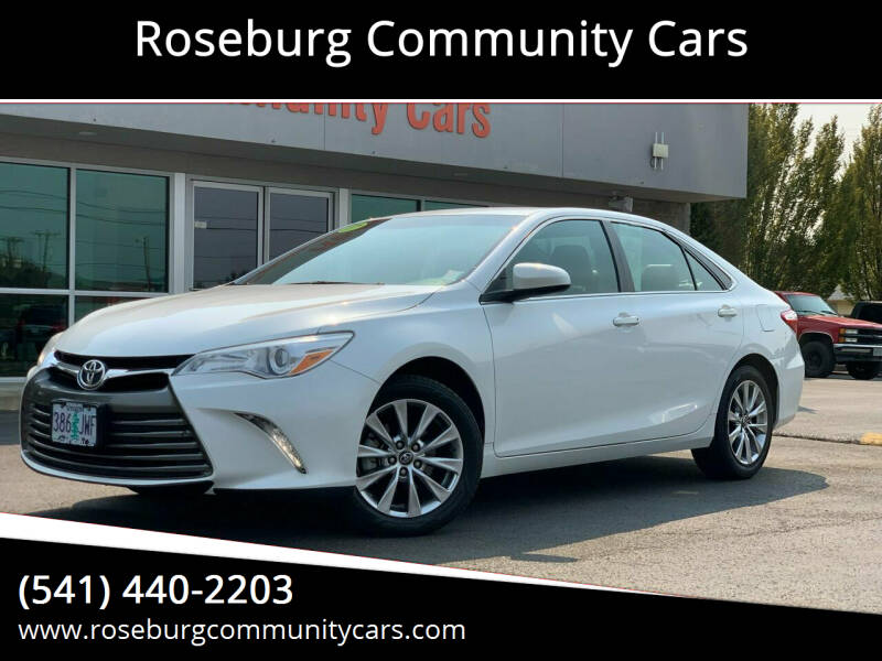 2017 Toyota Camry for sale at Roseburg Community Cars in Roseburg OR
