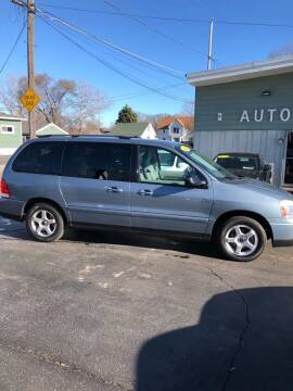 2004 Ford Freestar for sale at SHEFFIELD MOTORS INC in Kenosha WI
