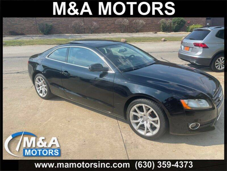 2011 Audi A5 for sale at M & A Motors in Addison IL