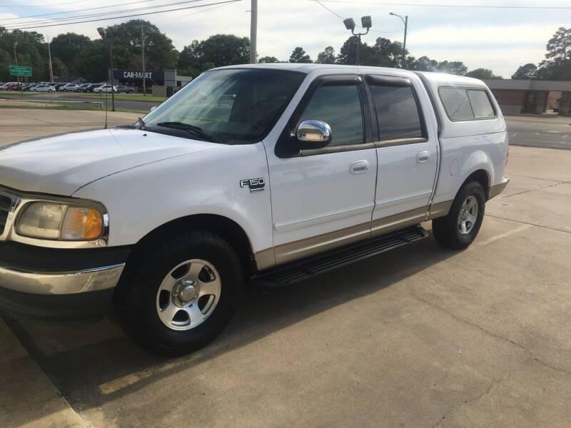 2001 Ford F-150 for sale at ARKLATEX AUTO in Texarkana TX