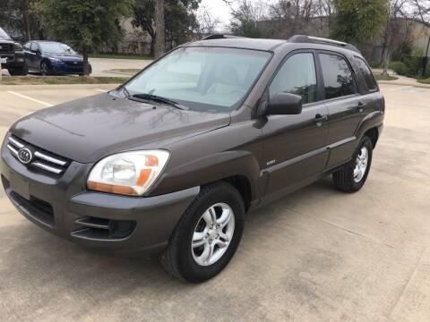 2005 Kia Sportage for sale at Safe Trip Auto Sales in Dallas TX