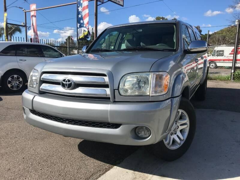 2006 Toyota Tundra for sale at Vtek Motorsports in El Cajon CA