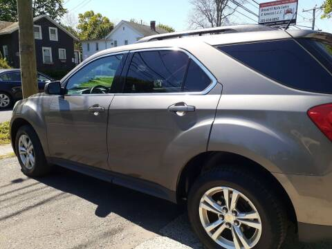 2012 Chevrolet Equinox for sale at Broad Street Auto in Meriden CT