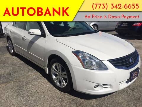 2010 Nissan Altima for sale at AutoBank in Chicago IL