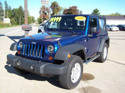 2009 Jeep Wrangler for sale at Summit Auto Inc in Waterford PA