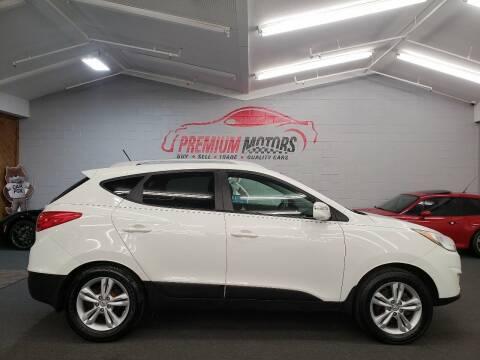 2012 Hyundai Tucson for sale at Premium Motors in Villa Park IL