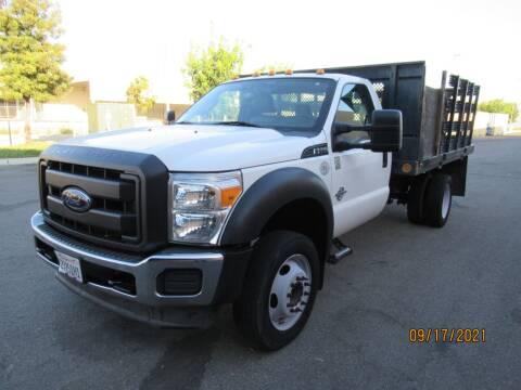 2012 Ford F550 Super Duty Cab Chassis for sale at California Auto Enterprises in San Jose CA