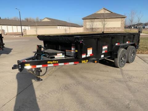 2022 Big Tex 14LP-14 Dump Box 14k #7979 for sale at Prairie Wind Trailers, LLC in Harrisburg SD