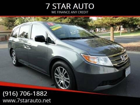 2013 Honda Odyssey for sale at 7 STAR AUTO in Sacramento CA