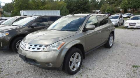 2004 Nissan Murano for sale at Tates Creek Motors KY in Nicholasville KY