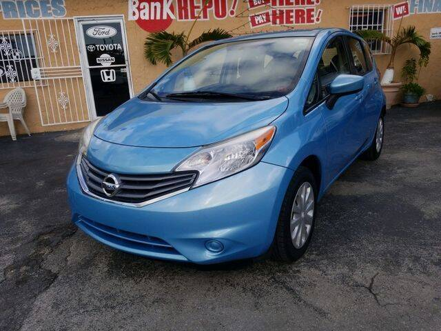 2015 Nissan Versa Note for sale at VALDO AUTO SALES in Miami FL