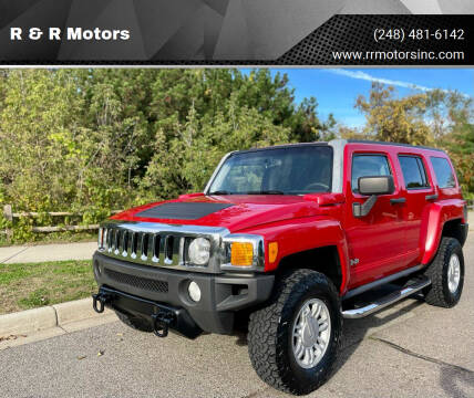 2009 HUMMER H3 for sale at R & R Motors in Waterford MI