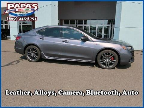2018 Acura TLX for sale at Papas Chrysler Dodge Jeep Ram in New Britain CT