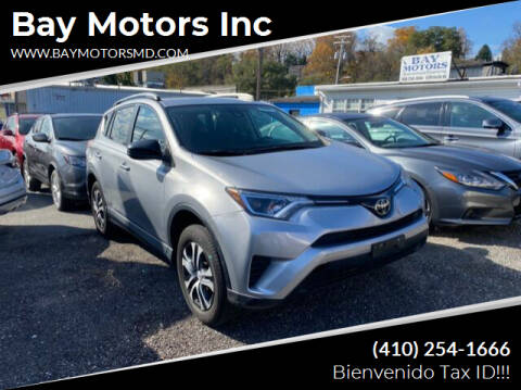 2017 Toyota RAV4 for sale at Bay Motors Inc in Baltimore MD