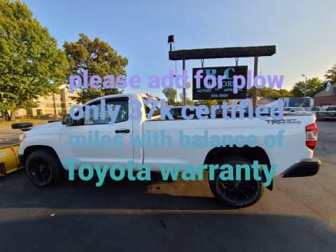 2014 Toyota Tundra for sale at R C Motors in Lunenburg MA