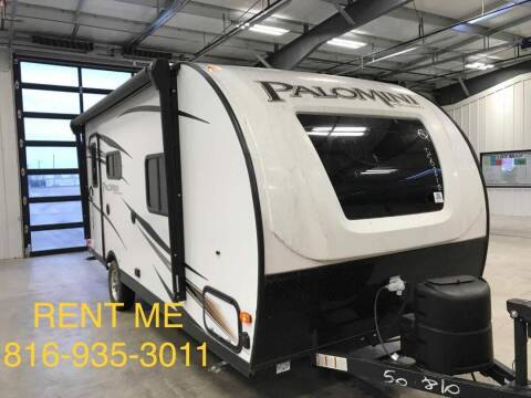 2019 Forest River Palomini for sale at Government Fleet Sales - Rent Me in Kansas City MO