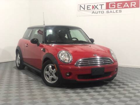 2010 MINI Cooper for sale at Next Gear Auto Sales in Westfield IN