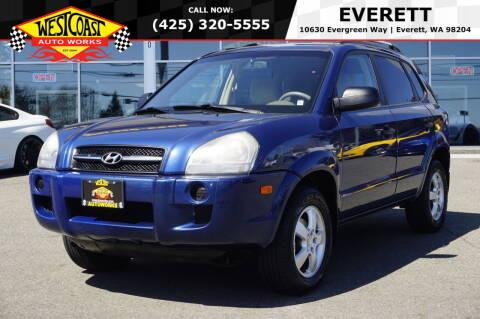 2007 Hyundai Tucson for sale at West Coast Auto Works in Edmonds WA