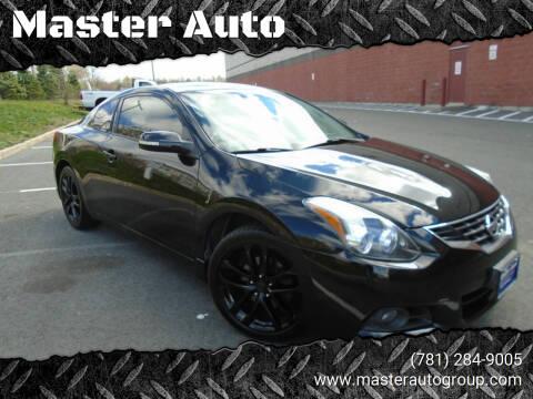 2010 Nissan Altima for sale at Master Auto in Revere MA