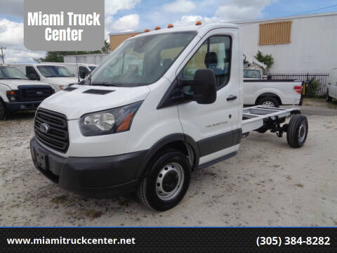 2016 Ford Transit Chassis Cab for sale at Miami Truck Center in Hialeah FL