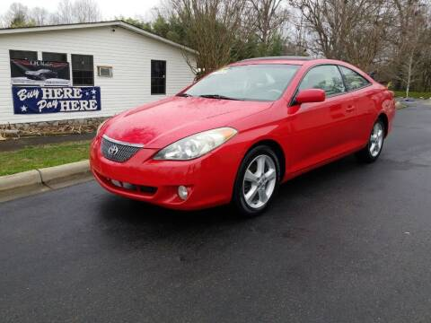 2005 Toyota Camry Solara for sale at TR MOTORS in Gastonia NC
