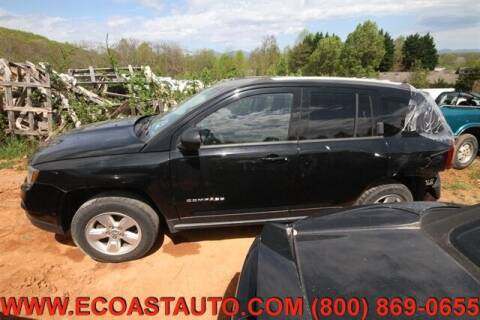 2015 Jeep Compass for sale at East Coast Auto Source Inc. in Bedford VA