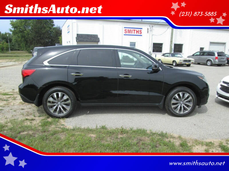 2014 Acura MDX for sale at SmithsAuto.net in Hart MI