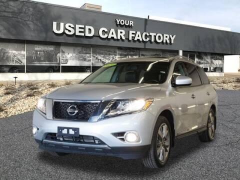 2014 Nissan Pathfinder for sale at JOELSCARZ.COM in Flushing MI
