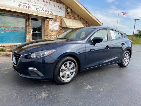 2015 Mazda MAZDA3 for sale at Browning's Reliable Cars & Trucks in Wichita Falls TX