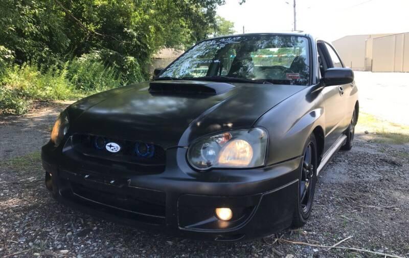 2005 Subaru Impreza for sale at D'Ambroise Auto Sales in Lowell MA