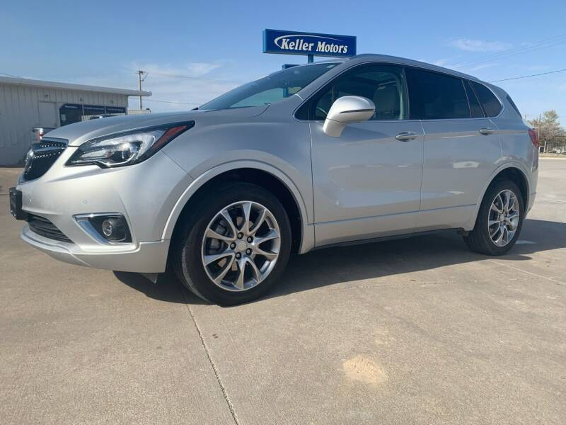 2019 Buick Envision for sale at Keller Motors in Palco KS