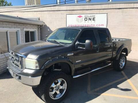 2006 Ford F-250 Super Duty for sale at SQUARE ONE AUTO LLC in Murray UT